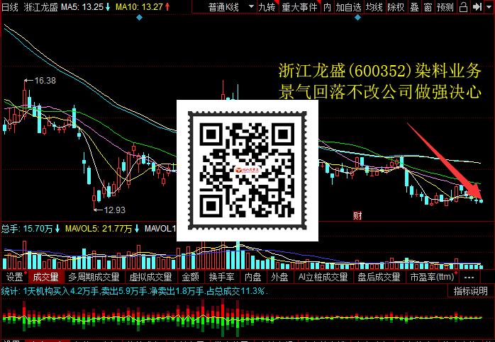 浙江龙盛(600352)染料业务景气回落不改公司做强决心