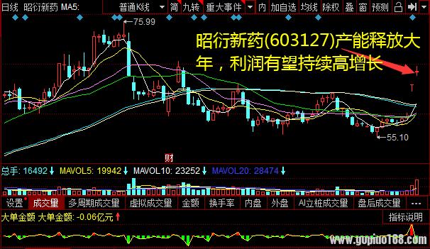 昭衍新药(603127)产能释放大年,利润有望持续高增长